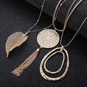 Anthropologie Necklace Bundle